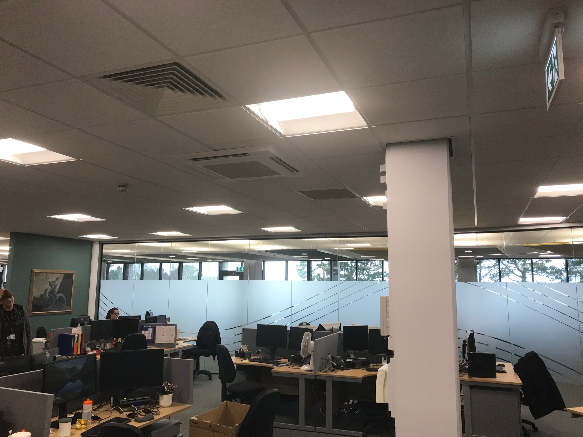 Mitsubishi Heat Recovery VRF | Aerocool Ltd | Hugh Owen Library | Aberystwyth University | Air Conditioning | Refrigeration