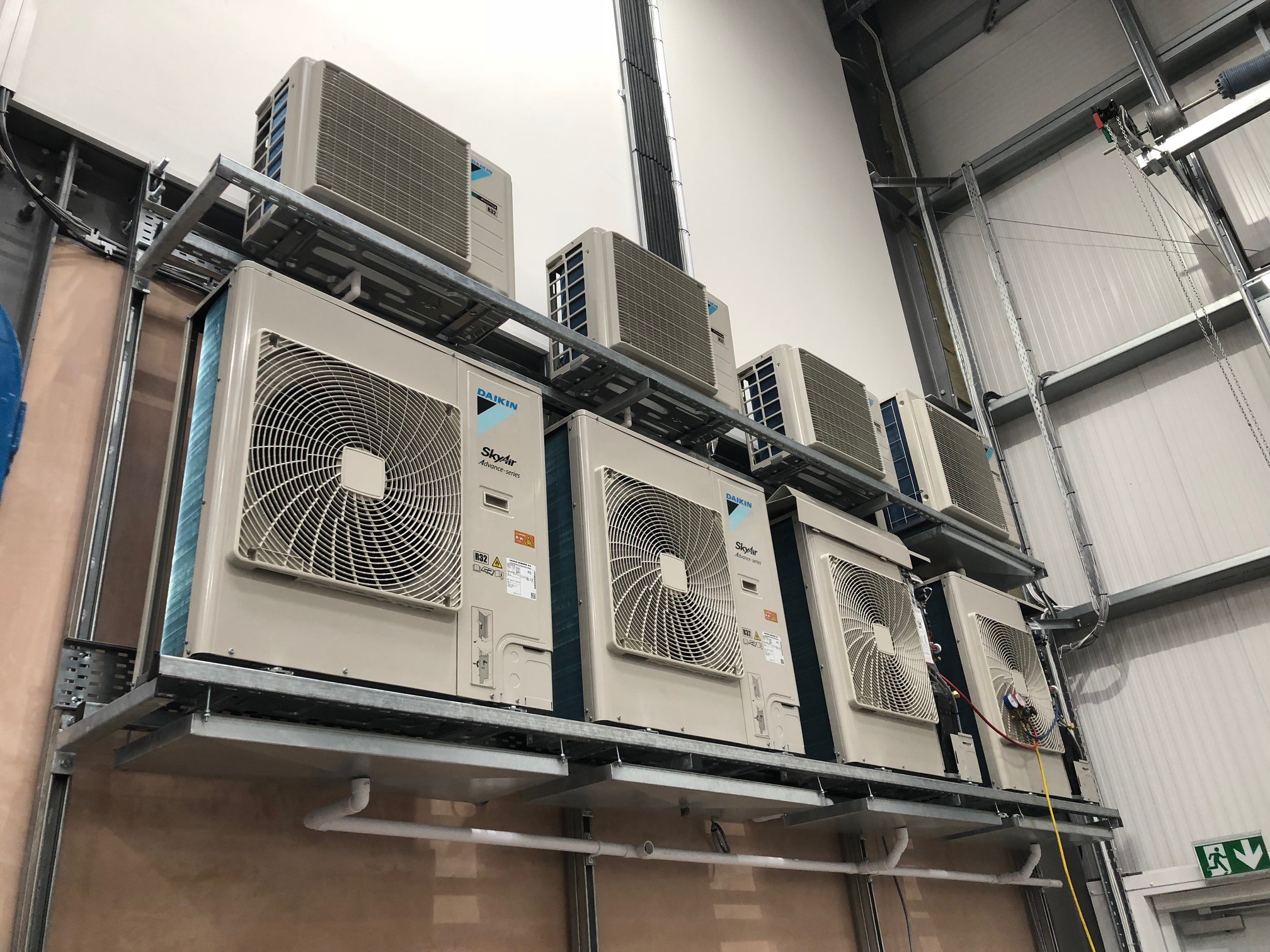 Daikin Sky Air Advanced Series - Manchester Airport - Aerocool Ltd - Air Conditioning - HVAC - Refrigeration