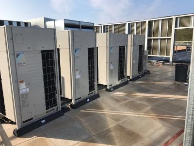 Daikin VRV installation Liverpool School - Aerocool Ltd - Air Conditioing - Refrigeration - HVAC