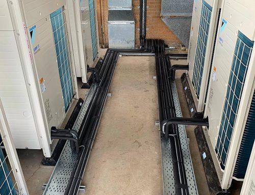 Daikin VRV Installation Edge Hill Medical School