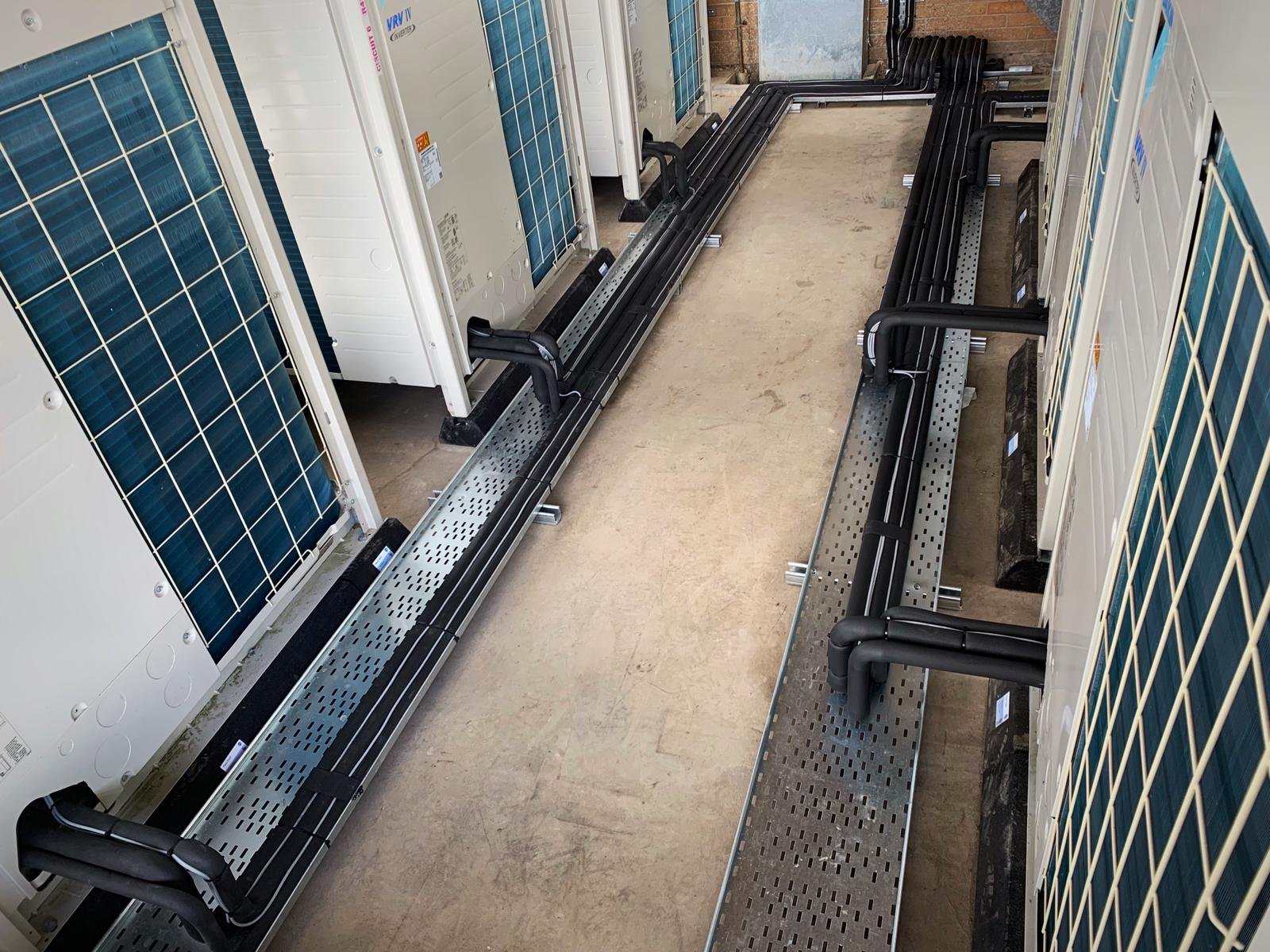 Daikin VRV Installation - Edge Hill Medical School - Aerocool Ltd - Air Conditioning - Refrigeration - HVAC